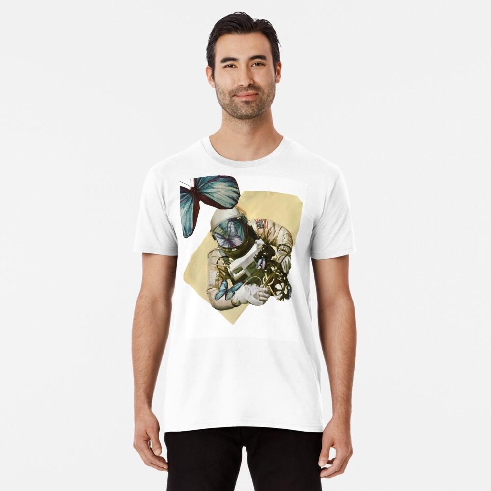 Schmetterlinge im Weltall Premium T-Shirt