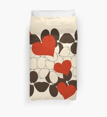 Sneaky Hearts Duvet Cover