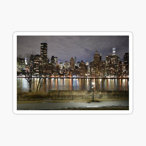 Upper East Side Skyline Sticker