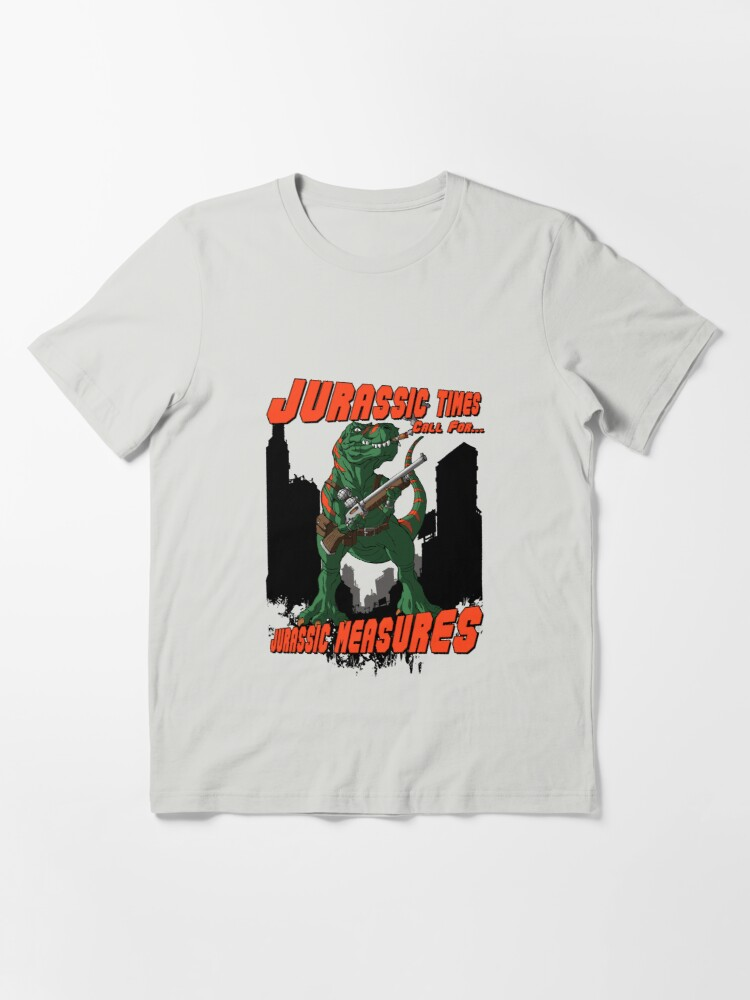 Alternate view of Jurassic Times Call For... Essential T-Shirt