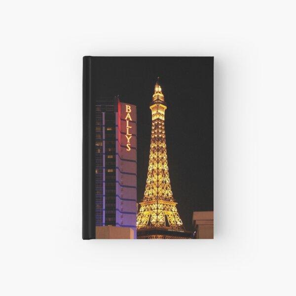 Eifel Tower - Las Vegas Hardcover Journal