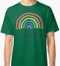 LGBTQA+  PRIDE [Love Wins] Classic T-Shirt