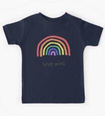 LGBTQA+  PRIDE [Love Wins] Kids Tee