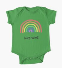 LGBTQA+  PRIDE [Love Wins] One Piece - Short Sleeve