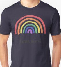 LGBTQA+  PRIDE [Love Wins] Unisex T-Shirt