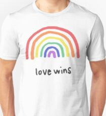 LGBTQA+  PRIDE [Love Wins] T-Shirt