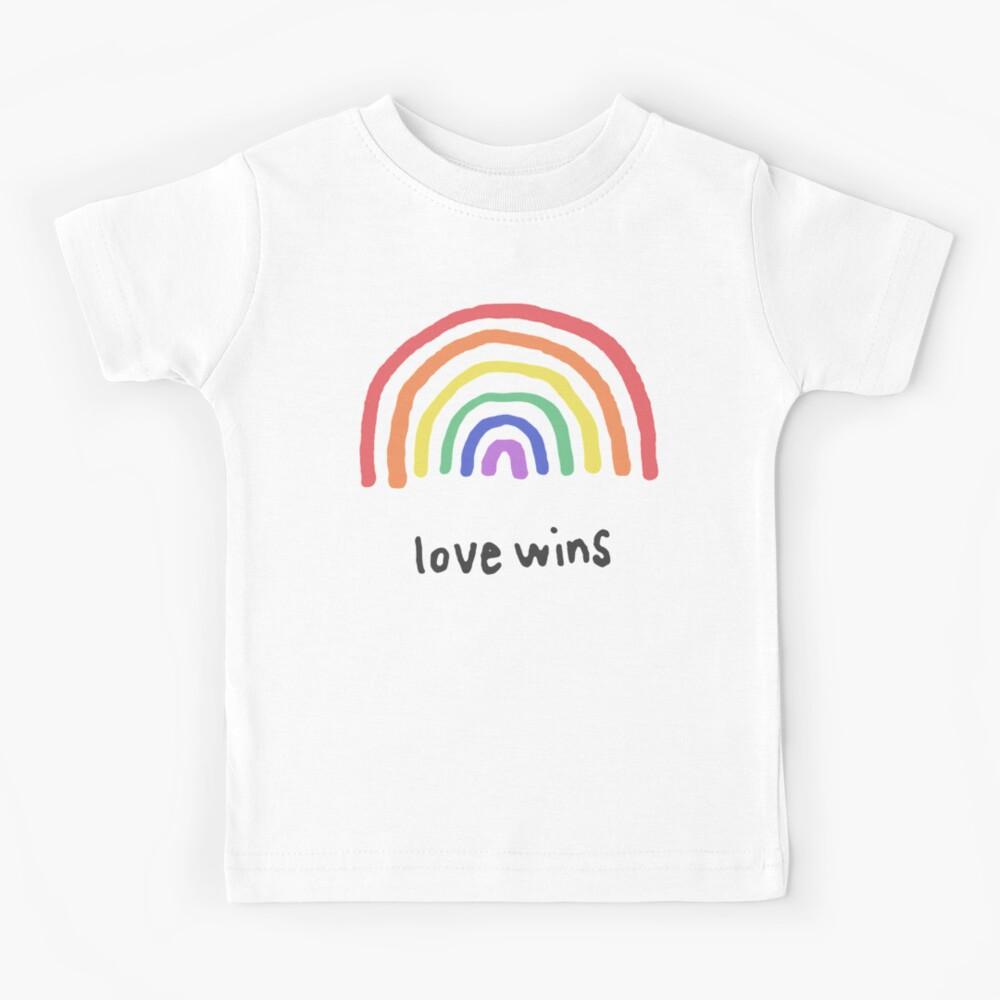 LGBTQA+  PRIDE [Love Wins] Kids T-Shirt