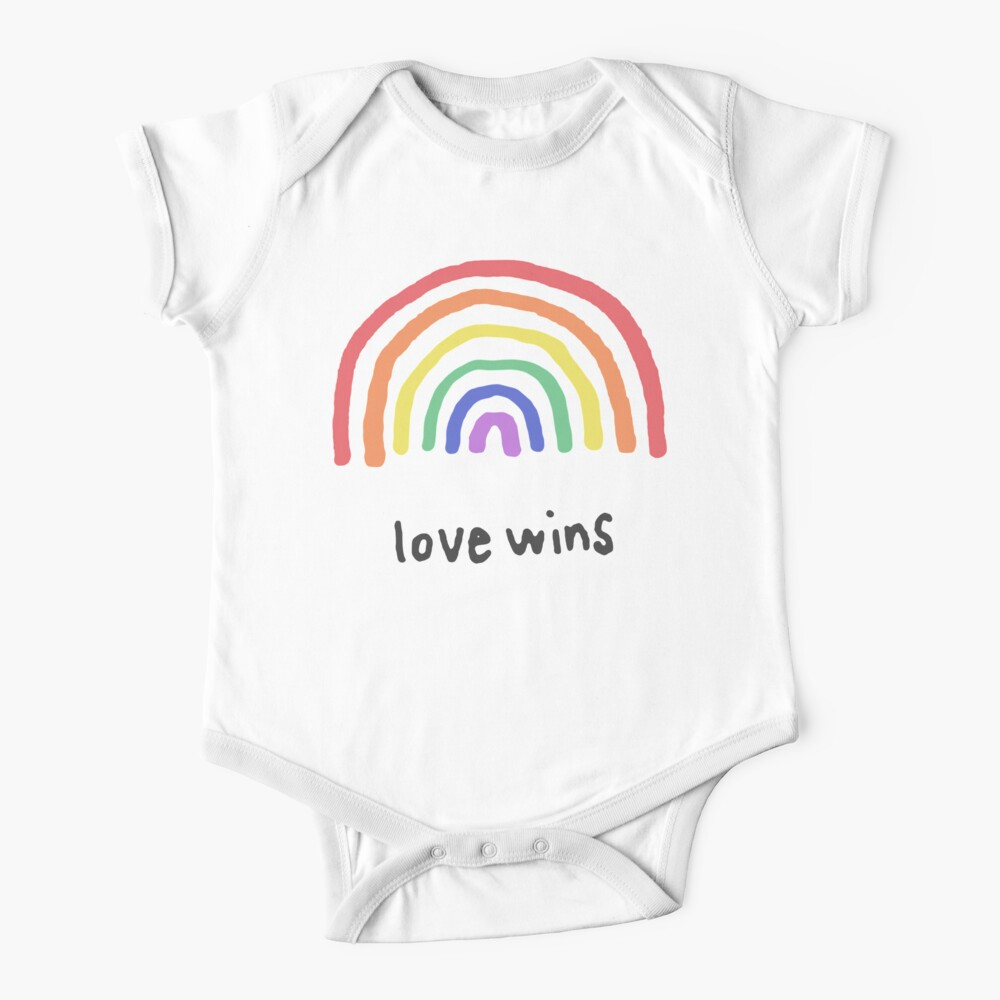 LGBTQA+  PRIDE [Love Wins] Baby One-Piece