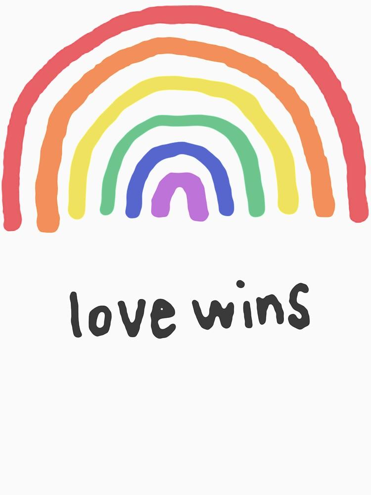 LGBTQA + PRIDE [Liebe gewinnt] von ZVCHWILLIAMS