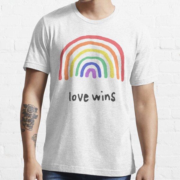 LGBTQA + PRIDE [Love Wins] T-shirt essentiel