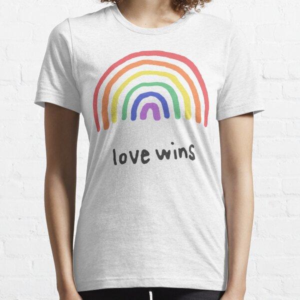 LGBTQA+  PRIDE [Love Wins] Essential T-Shirt