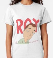 ROY: A Life Well Lived Rick and Morty Fan Art Classic T-Shirt