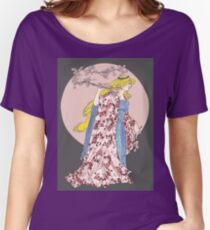 Cherry Blossom Moon Women's Relaxed Fit T-Shirt