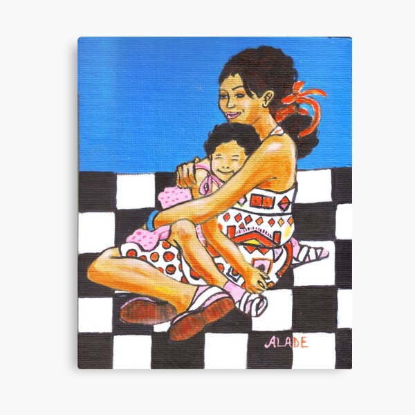 Mother's Affection Canvas Print