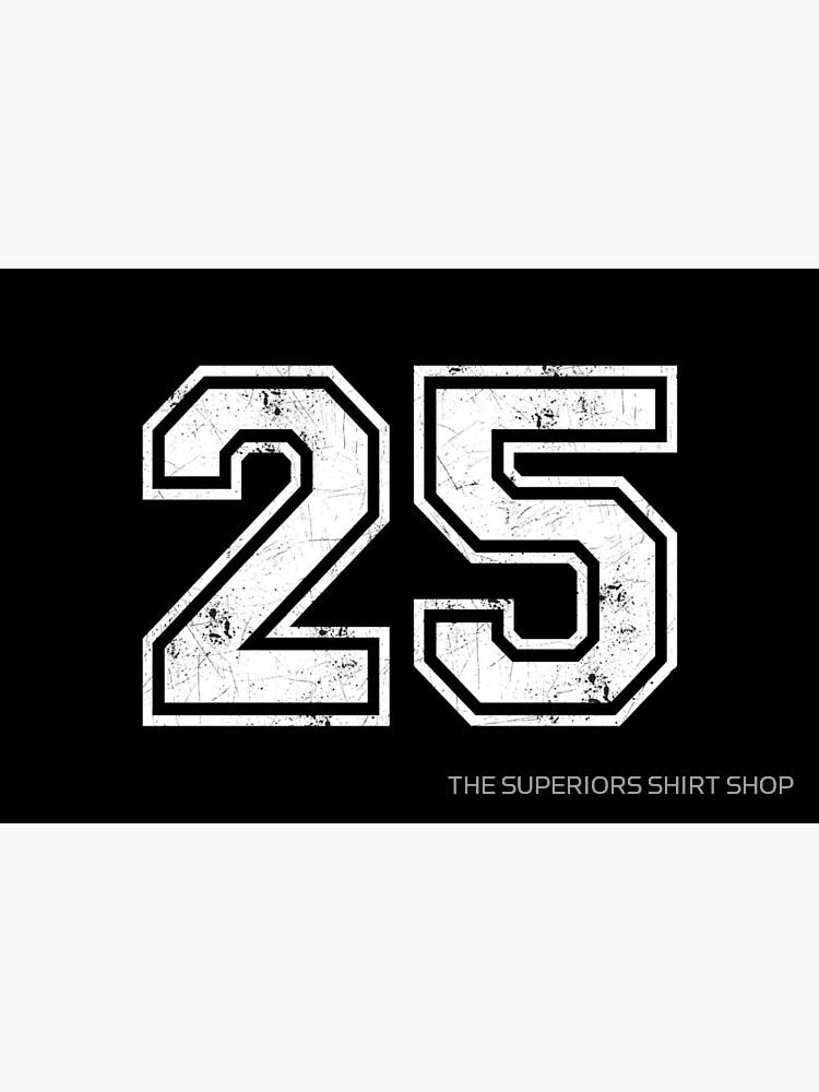 25 jersey jerseys number 25 jersey sports   Art Board Print