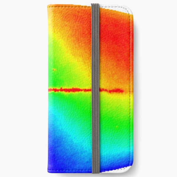#Map #dipole #anisotropy #background #radiation Colorfulness abstract science bright illustration shape futuristic horizontal colors large iPhone Wallet