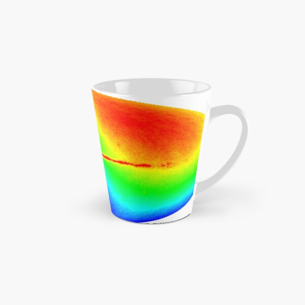 #Map #dipole #anisotropy #background #radiation Colorfulness abstract science bright illustration shape futuristic horizontal colors large Tall Mug