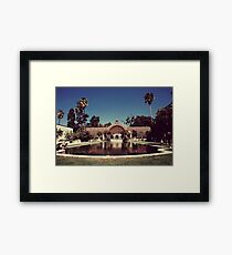 No More Water Lilies Framed Print