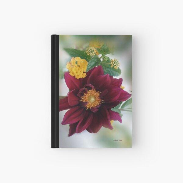 Delightful Dahlia Hardcover Journal