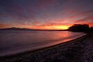 Hamurana Sunset by Michael Treloar
