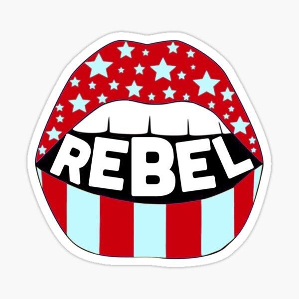 Rebel Lips Sticker