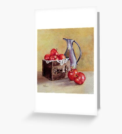 Just Outside The Box Greeting Card