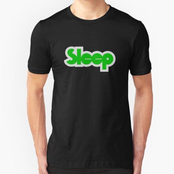 Sleep Band Logo Slim Fit T-Shirt