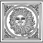 YOU COLOR IT: BLAZING SUN by Art History Major