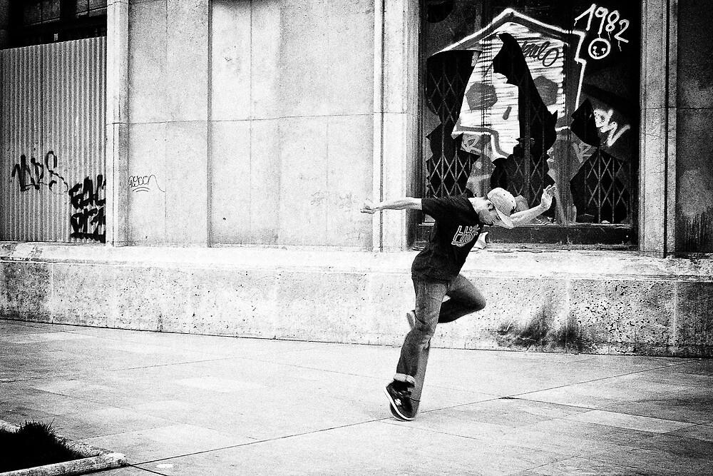 Dancing on wheels 1 by Nayko