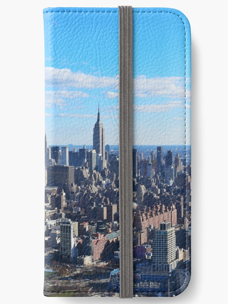 Empire State Building from the air - colour by slitheenplanet