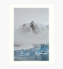 The Magnificent Iced Continent Art Print