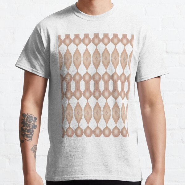#Symmetry #Pattern #shape #paper #wood #vertical #human #body #bodypart Classic T-Shirt