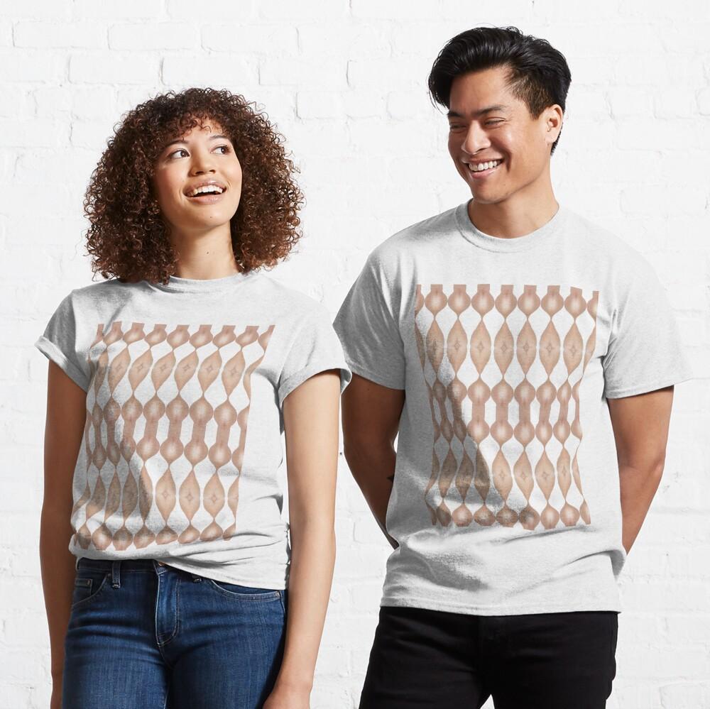 #Symmetry #Pattern #shape #paper #wood #vertical #human #body #bodypart Classic T-Shirt