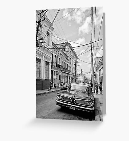 Cuban mood Greeting Card