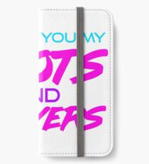 Thots and Prayers - Vaporwave Edition iPhone Wallet/Case/Skin