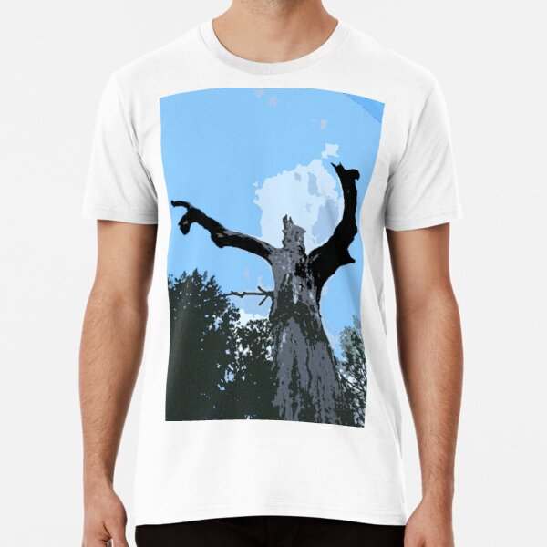Tree with a Message Premium T-Shirt