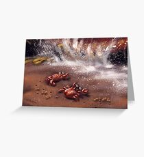 Friendly Crabs Greeting Card
