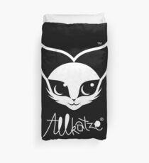 ALLKATZE * Space Cat - Weltraum-Katze - Chat d'Espace Bettbezug