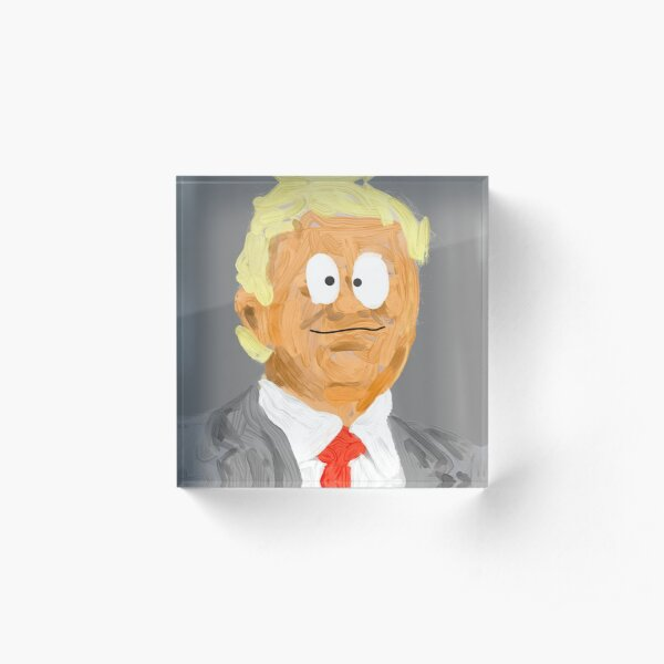Not My President Acrylic Block