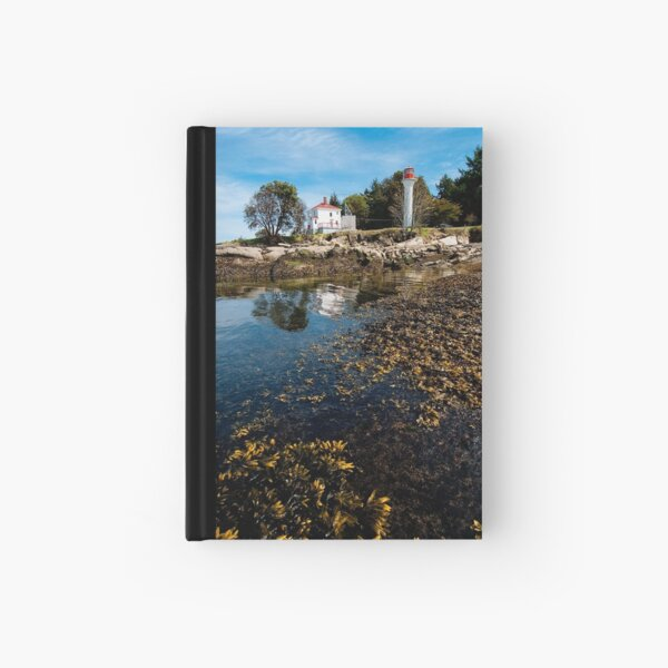 Lighthouse Park at Low Tide Hardcover Journal
