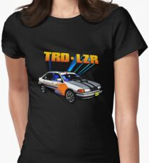 TRD Laser - 80's Style Bright Colour Women's Fitted T-Shirt