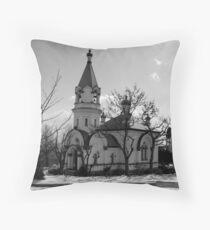 Russian Orthodox Church, Hakodate Throw Pillow