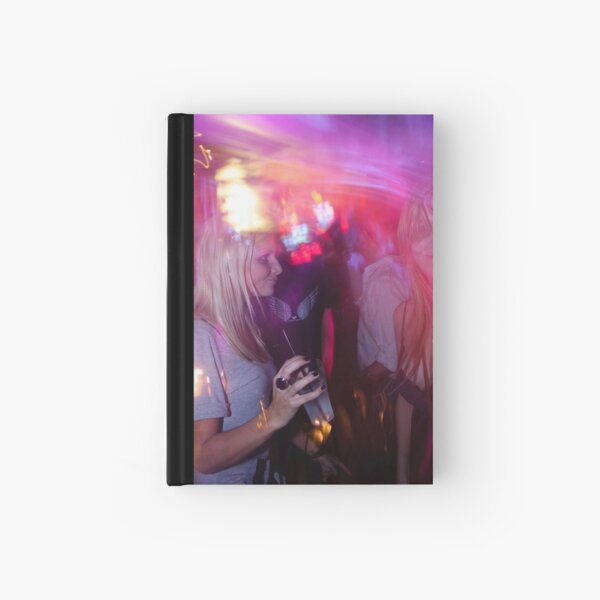 Music paints the scene Hardcover Journal