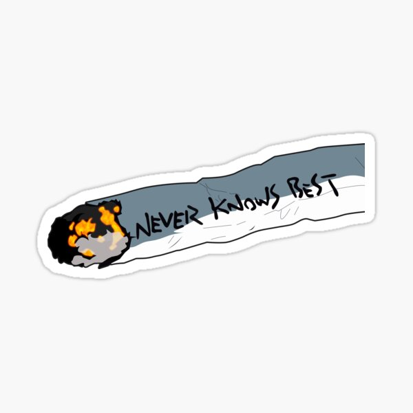 Never Knows Best FLCL Sticker