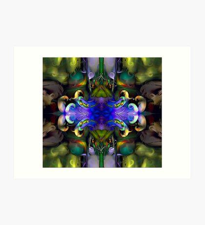 Embryonic Journey (Art & Poetry) Art Print