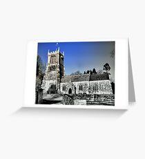 St Andrews Church- East Lulworth Greeting Card