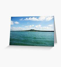Rangitoto Island Greeting Card