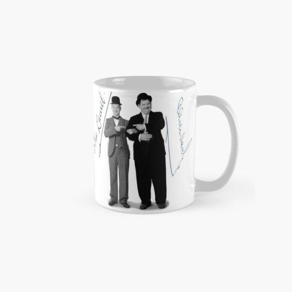 Laurel and Hardy Signature Autograph Mug Classic Mug
