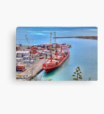 Port of Napier Canvas Print