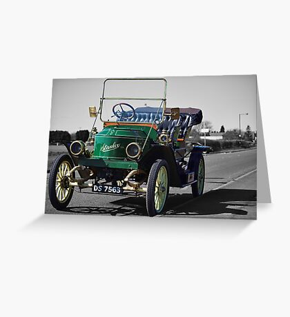Stanley Steamer 1911 Greeting Card